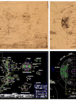 اسکن و رقومی سازی نقشه ها